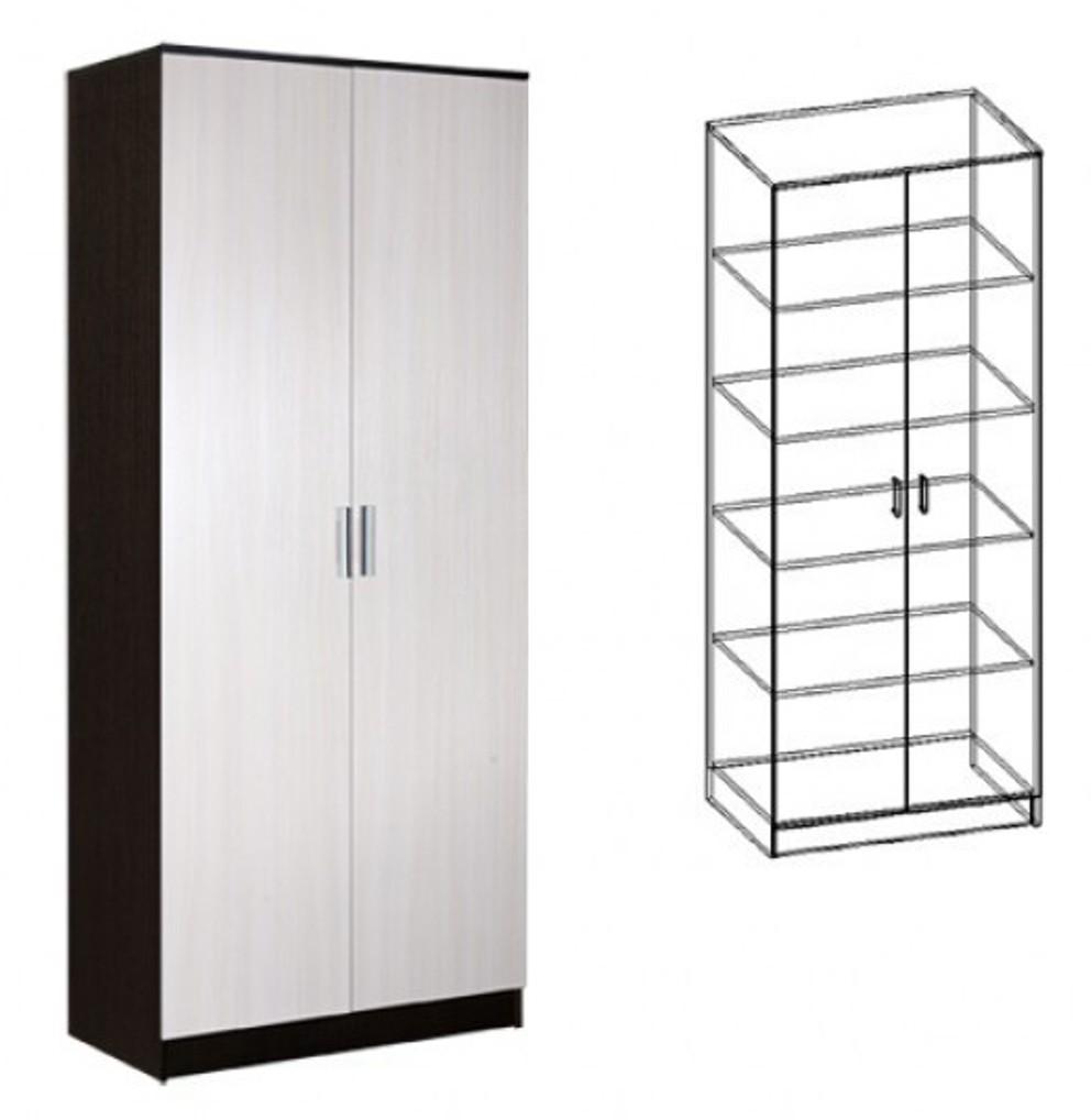 Шкаф распашной 2-х створчатый бельевой светлана шкаф распашн.